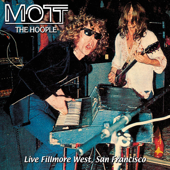 Mott The Hoople - Live Fillmore West front cover